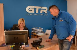 Gary & Tanya at GTR Contracts Ltd